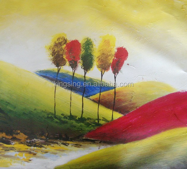 Cheap home decor art modern flower oil painting picture