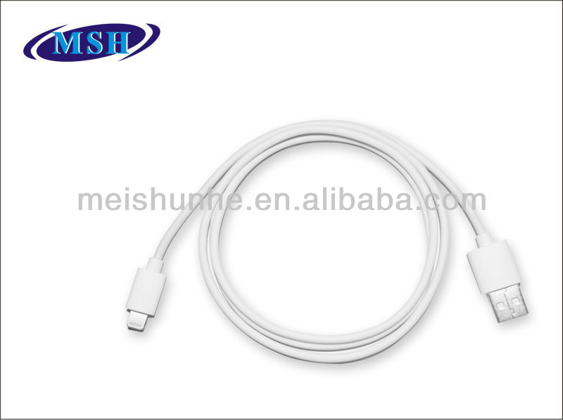 MFI approved 8 pin to usb cable