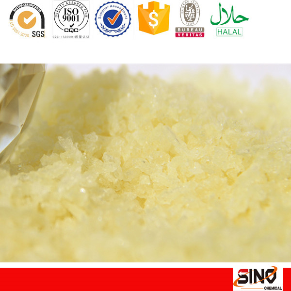 HALAL factory price yellow powder gelatin