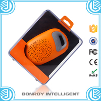 Waterproof Wireless shower Bluetooth Speaker with Strong Suction Cup for Shower/Bathroom/swimming Pool