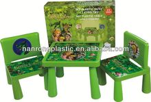 2013 New style wholesale high quality plastic children table and chair fisher price baby rocker chair
