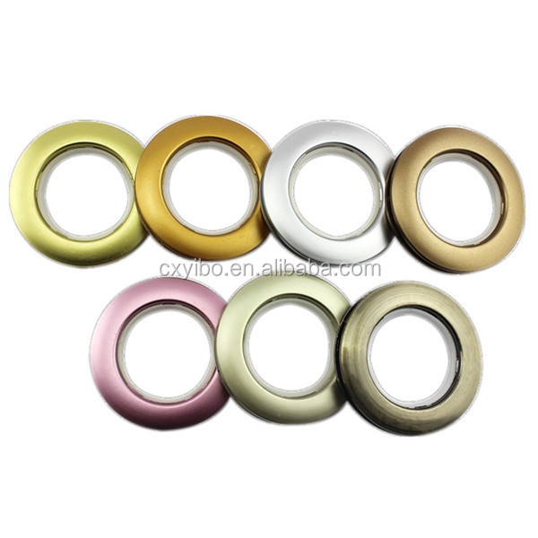 Mde in china curtain accessories high quality curtain eyelet rings