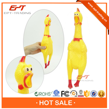 Small plastic cheap rubber chicken toy