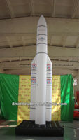 attractive rocket advertising inflatable /inflatable rocket model for advertising YP-17