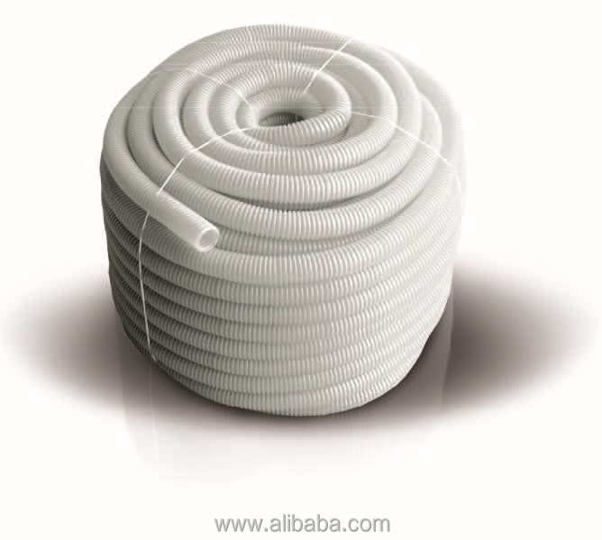 Crinkled hose for water supply systems and heating systems