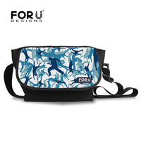 Sublimation Street Dance Silhouette Messenger Bag With Black Back For Men