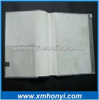 note book cover, plastic covering sheets for books,soft pvc book cover