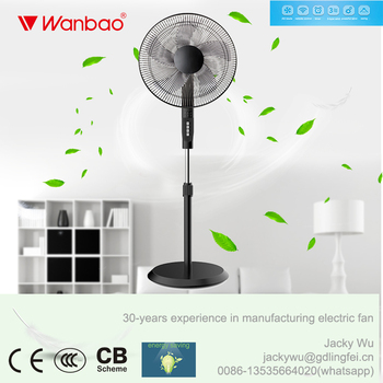 New arrival cheap stand fan with full copper motor and LED display