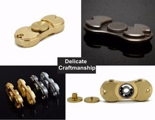 2017 Top Selling Fidget Toys Hand Spinner made of Copper, brass pure metal