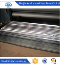 alibaba express china supplier 1mm thick galvanized steel sheet/gauge thickness galvanized corrugated for roofing in stock