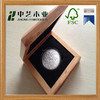 Most popular handmade custom design solid pine wood varnished wooden coin box medal box