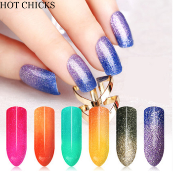 New arrival UV LED Chameleon Temperature Color Change gel mood change gel nail polish