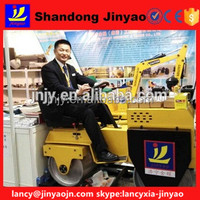 earth moving road roller, driving double drum road roller, hydraulic pump rode roller for sale