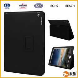 Wholesale Genuine Leather Smart Tablet Cover Case For Ipad Mini