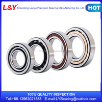 Name Brand L&Y Single Row Angular Contact Ball Bearing Manufactured In China Factory