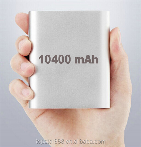 External Battery 10400 MAH mobile power bank portable power bank for mobile phone
