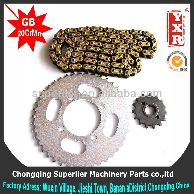 made in china ansi chain sprocket,NX 400 FALCON 15T sprocket,forging 1045 steel standard chain sprocket