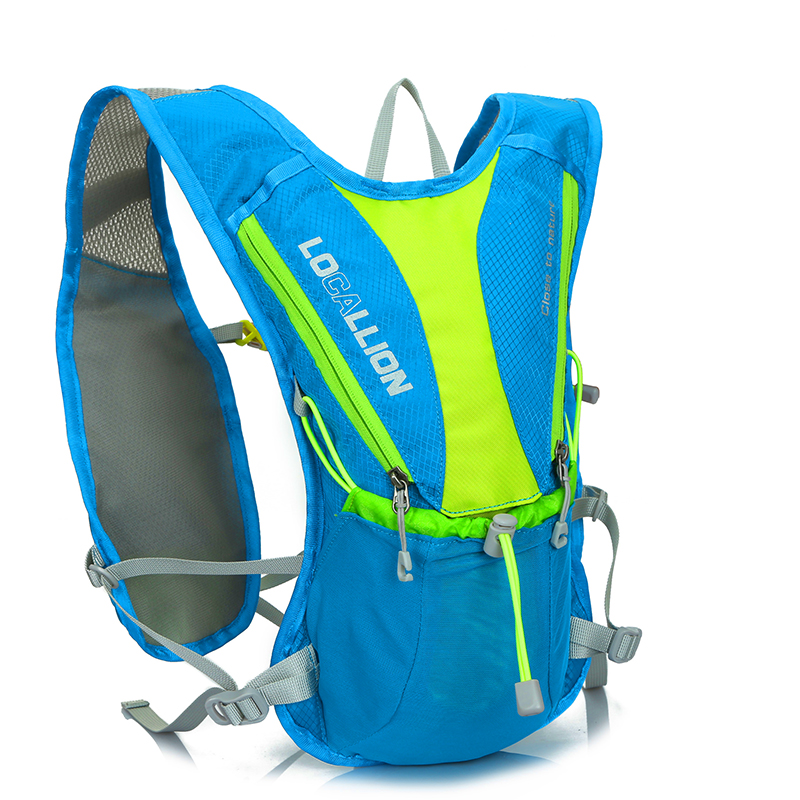 2017 New design runner hydration pack backpack with water bladder for ourdoor sports