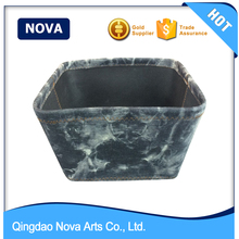 Hot dipped cloth container storage bin