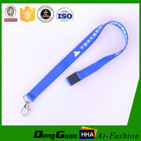 Cheap price custom printed nylon lanyards no minimum for making personal logo