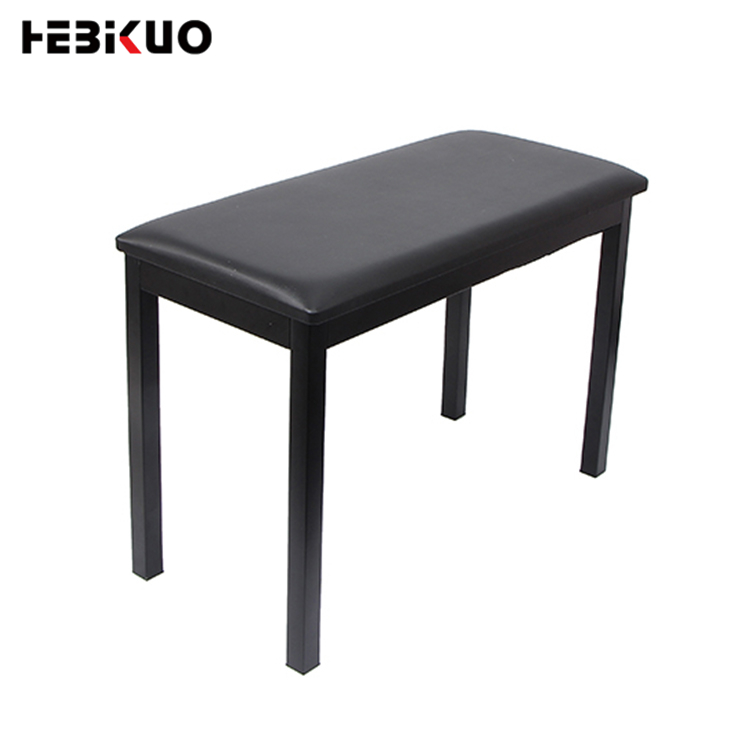<strong>Q</strong>-<strong>112</strong> HEBIKUO 150kg Loading bearing music piano stool adjustable black piano chair
