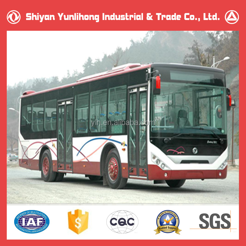 Dongfeng Hot Sales 4X2 Diesel City Bus Dimensions/25 Seater Bus/Chinese Bus