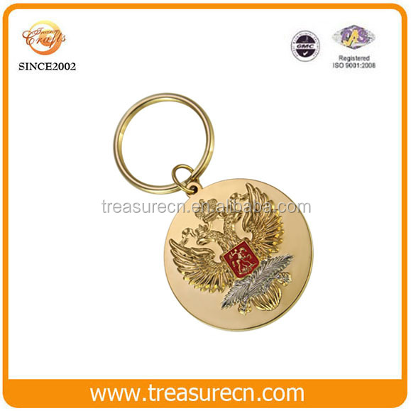 Promotional souvenir gift cheap new custom keychains no minimum for sale