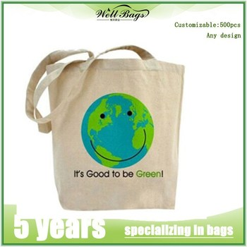 Customized natural cotton canvas tote shopping bag alibaba trade assurance