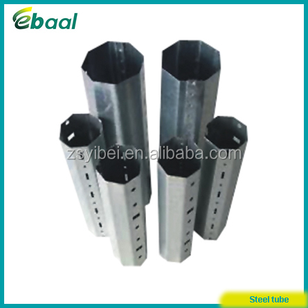 galvanized steel octagonal tube for aluminium roller shutters