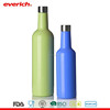 Everich 375ml 750ml Double Wall Vacuum Insulated Stainless Steel Wine Bottle