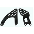 Carbon fiber heel guards for Yamaha R6