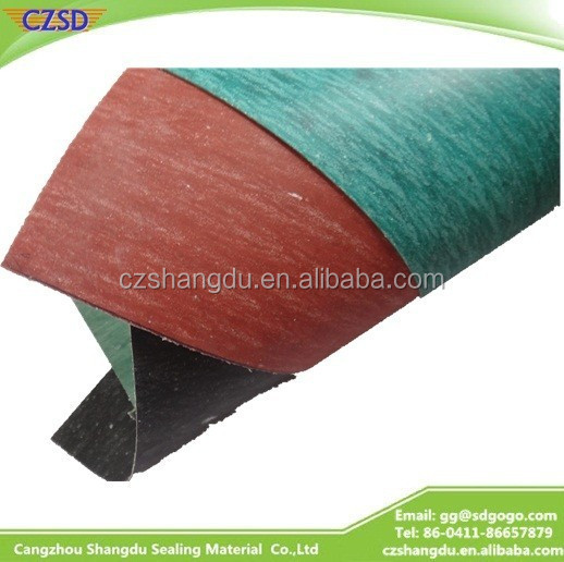SD Oil resisting non asbestos compressed punched rubber gasket jointing sheet