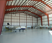 turnkey project steel structure aircraft hangar