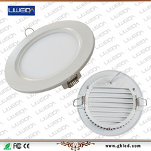 CE approved AC100-240V 8W LED panel light with cut-out 124mm