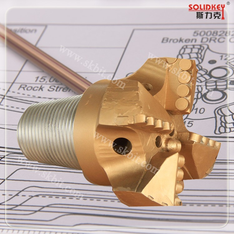 "China supplier 7 1/2"" PDC drag bit drilling"