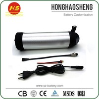 HHS light electric bike lithium battery 36V 8.8Ah