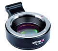 VILTROX lens mount adapter ring with lens anlarge the aperture L/R-E Speed booster for E mount camera