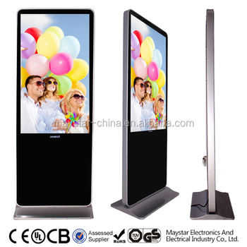 55 inch advertising lowest price wifi 3g totem advertising led display