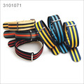 6 colors Universal Nylon watch band 20/22mm watch bracelet mutil color nylon watch strap with stainless steel buckle