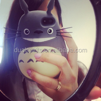 Totoro style 3d cartoon phone case for iphone 6 plus,for iphone 6 case cartoon supplier