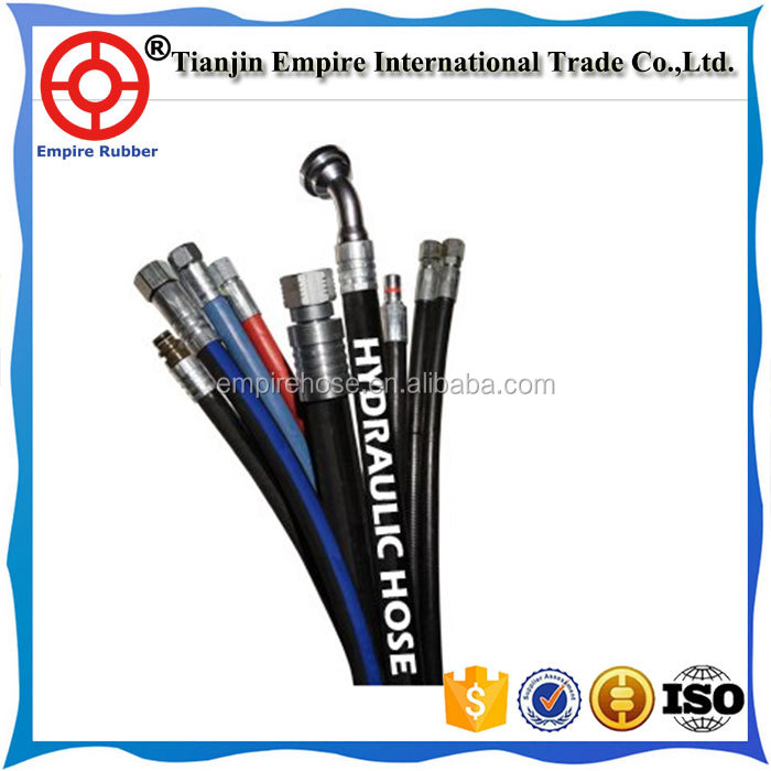 Hot selling flexibler Wire Spiral DIN hydraulic hose with factory price