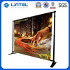Telescopic Fabric Event Backdrop Banner Stand