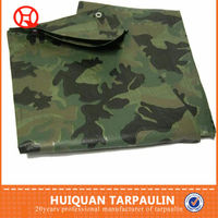 Camo tarpaulin for tent