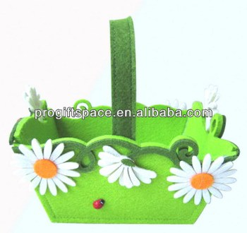 hot new products for 2017 wholesale alibaba china supplier eco-friendly handmade felt gift basket