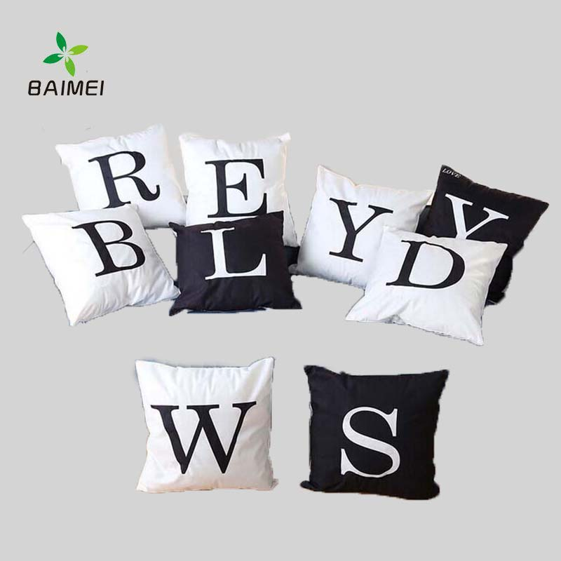 Latest Shining LED Pillow Case With Alphabet Word
