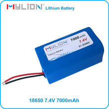 18650 Lithium Battery 7.2V 7000MAH For smart robot with Samsung cell