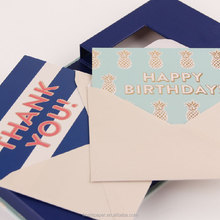 Wholesale Custom Thank You Gift Card Envelope