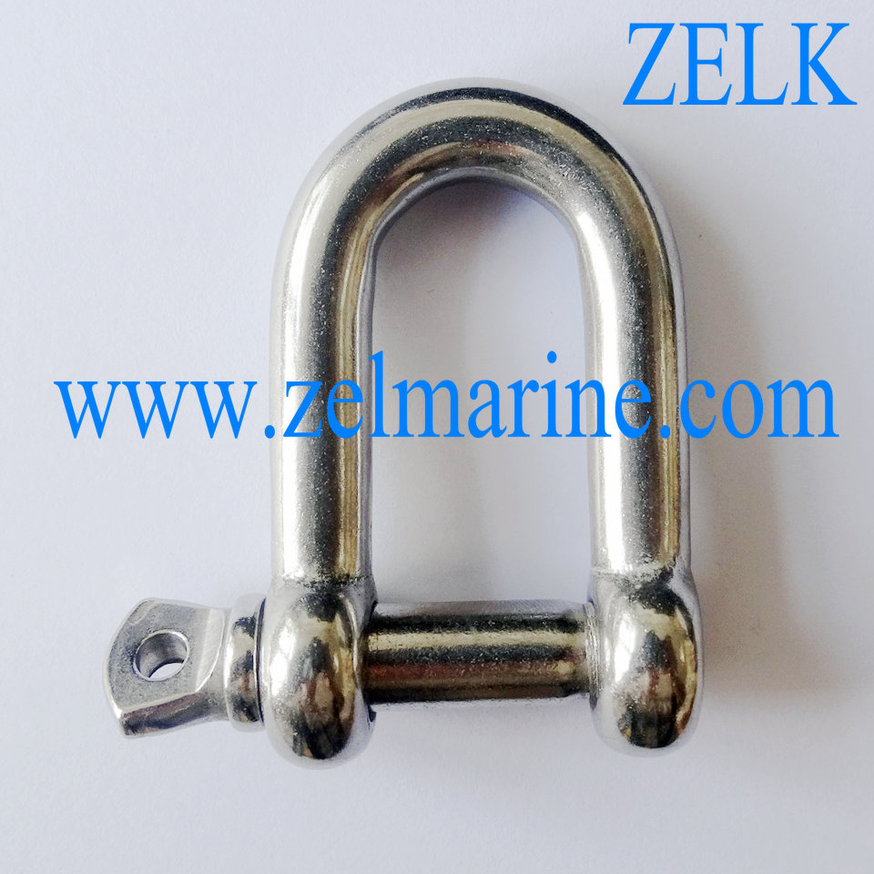 Stainless Steel D Shackle For Paracord