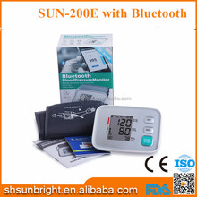 SUN-200EH Bluetooth multi-function cheap high quality blood pressure monitor China