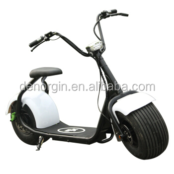 2017 China Custom Model electric chopper scooter 1500w 2000w adult electric motor bike frame and spare parts with E-Mark